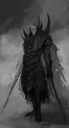 Condezio the Undead Vampire Count and ruler of the undead in the north Demon Art, Fantasy Demon, High Fantasy, Dark Fantasy Art, Fantasy Artwork, Dark Art, Fantasy World, Art Goth, Warhammer Vampire Counts