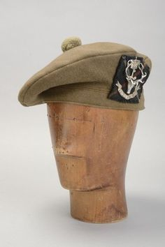 Seaforth Highlanders Officer s WW2 Era Kakhi Bonnet.