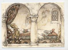 Anton Pieck postcard   eBay
