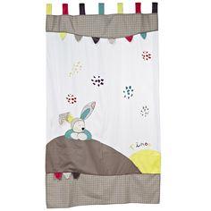 Tinoo rideau 105x180 de Sauthon Baby Déco, Accessoires déco : Aubert