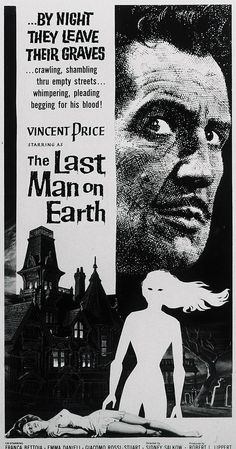Directed by Ubaldo Ragona, Sidney Salkow.  With Vincent Price, Franca Bettoia, Emma Danieli, Giacomo Rossi Stuart. When a disease turns all of humanity into the living dead, the last man on earth becomes a reluctant vampire hunter.