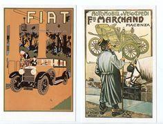 2 automobile Postcards dalkeiths series Modern