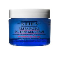 Best moisturizer for oily faces + it leaves a matte finish!  It's my favorite day moisturizer!  Kiehl's Ultra Facial Oil-Free Gel-Cream