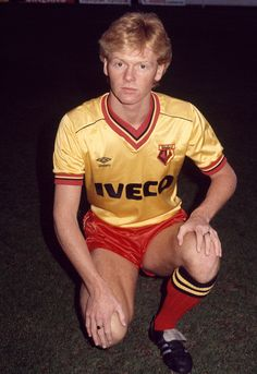 Mo Johnston of Watford, circa 1984. Get premium, high resolution news photos at Getty Images