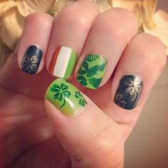 more St. Patricks Day nails