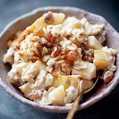 Granola granola z jabłkiem Easy Healthy Breakfast, Breakfast Recipes, Healthy Eating, Healthy Food, Muesli, Granola, Polish Recipes, Polish Food, Macaroni And Cheese