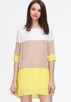 robe de couleurs opposées