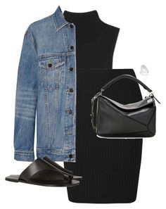 Untitled #12555 by alexsrogers on Polyvore featuring polyvore fashion style T By Alexander Wang Alexander Wang All Tomorrow's Parties Loewe Sophie Buhai clothing All Tomorrow's Parties, Alexander Wang, Blue Jeans, Polyvore Fashion, Luxury Fashion, Denim, Loewe, Jackets, Clothes