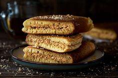Apam Balik is a soft fluffy & moist sweet Malaysian peanut pancake turnover stuffed with a sugary, buttery peanut filling.