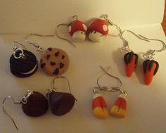 Polymer Clay, earrings