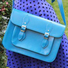 70s Style Satchel Bag