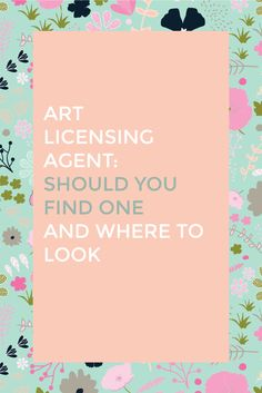Art Licensing Agent: Should you find one and where to look — Love Midge