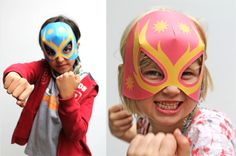 How to make Lucha Libre masks (Free paper mask template)