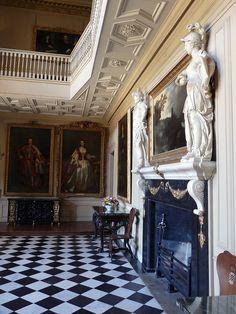 entrance hall of Ham House