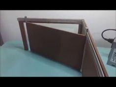 Maquete de um portão em L automatizado. - YouTube