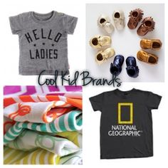 Cause Pea's a Cool Kid// 20 Cool Kids brands you may or may not know of//
