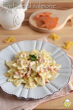 My Favorite Food, Favorite Recipes, Smoked Salmon Recipes, Yummy Food, Tasty, Food Videos, Pasta Salad, Pasta Recipes, Macaroni And Cheese