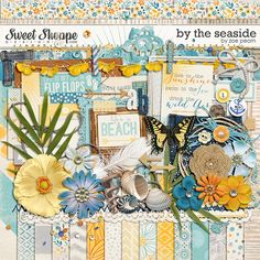 By The Seaside by Zoe Pearn $7.99 http://www.sweetshoppedesigns.com/sweetshoppe/product.php?productid=25721