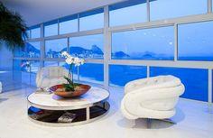 Modern, Stylish And Luxurious Copabana Triplex In Rio De Janeiro
