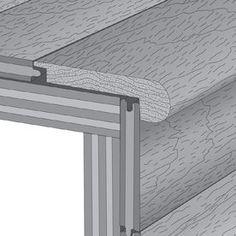 Mullican Flooring 3-In X 78-In Merlot Stair Nose Floor Moulding 14019