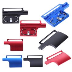 Colorful CNC Aluminum Protective Clip Housing Lock Buckle Camera Anti-Water Case Lock Buckle for GoPro Hero 3+ 4