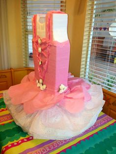 Ballerina piñata for my grandaughter Ballerina Birthday Parties, Girl Birthday Themes, Ballerina Party, 6th Birthday Parties, Princess Birthday, Birthday Decorations, Tutus For Girls, Diy For Girls, Angelina Bailarina