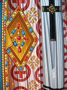 Byzantine Art, Byzantine Icons, Icon Clothing, Art Icon, Religious Icons, High Art, Orthodox Icons, Horns, Style Icons
