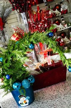 We are making Grinch inspired Christmas trees that make for the perfect decoration inside or out. #yyc #Calgary