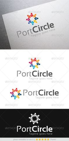 Port Circle	 Logo Design Template Vector #logotype Download it here: http://graphicriver.net/item/port-circle/6344159?s_rank=1113?ref=nexion