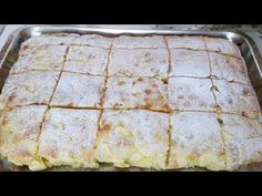 Яблочный пирог который тает во рту. - YouTube Food And Drink, Sweets, Bread, Cheese, Apple, Baking, Desserts, Cooking, Russian Cuisine