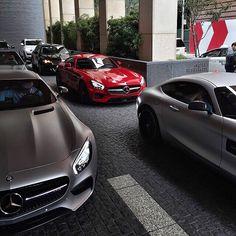 Mercedes-Benz SLS AMG, #MercedesBenz #SportsCar Mercedes-AMG AMG GT, #AutoShow #MercedesAMG Image, Grand tourer - Follow #extremegentleman for more pics like this!