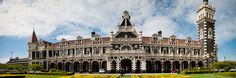 Dunedin lives with and values it's heritage. We have fine examples of working heritage like Speight's Brewery, the Gasworks Museum and the Taieri Gorge Railway. Dunedin New Zealand, Brewery, Notre Dame, Travel Destinations, Louvre, Architecture, Building, Places, Gingerbread