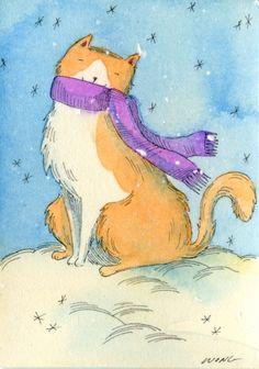 Happy snow -- Nicole Wong