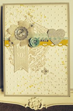 Petite Fleur Paperie: Beautifully Baroque Card !
