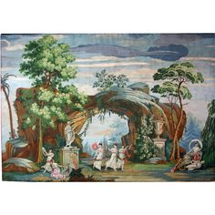 An Early 19th Century Wallpaper Panel by Joseph DuFour