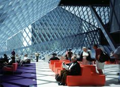 Seattle Public Library. All that light.  All buildings should be made of glass