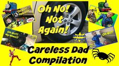 CARELESS DAD Crushes Toy Under Car IRL Compilation