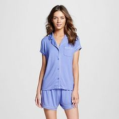 Women's Pajama Set Deep Periwinkle - Gilligan & O'Malley™