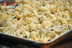 Garlic Parmesan Roasted Cauliflower - Low Carb, Gluten-Free, Primal   Peace, Love, and Low Carb