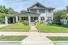 Amazing 1930's Historic American Four Square brick Craftsman Contact me for a private showing.