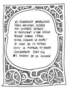 Un poème de Jean. © Moebius Productions