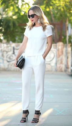 11 Ways to Wear Head-to-Toe White Before Summer Is Over waysify