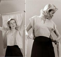 Mrs. Button's Vintage Corner: Vintage Wrap Top Tutorial