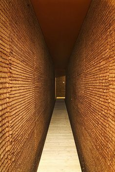 """Tania Bruguera's 2003 installation """"Poetic Justice"""", constructed entirely of used tea bags"""