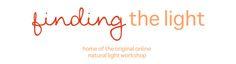 Sign up for the original natural light online workshop!