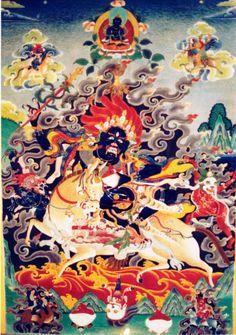 Palden Lhamo's Mantra - JO RAMO JO RAMO JO JO RAMO TUNJO KALA RACHENMO RAMO AJA DAJA TUNJO RULU RULU HUNG JO HUNG