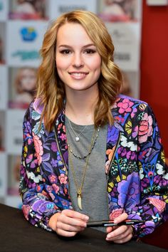 Bridgit Mendler - FNAC store Meet & Greet in Madrid