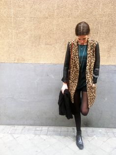 leopard #look #sensitivetobeauty #fashion #streetstyle #leopard #coat #sales  www.sensitivetobeauty.wordpress.com