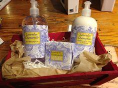 Lavender Chamomile bath gift basket at M.I.