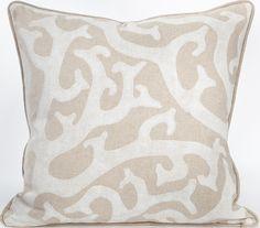 Hamptons Collection - Crayton Cove Sand Pillow: Beach Decor, Coastal Decor, Nautical Decor, Tropical Decor, Luxury Beach Cottage Decor